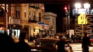 Men In Black 3  - Motorcycle Chase Scene in Woodhaven Queens