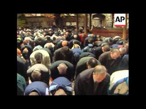 Bosnian Muslims celebrate Eid Al Fitr, the biggest holiday in Islamic calendar