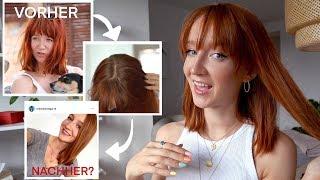 Wie färbe ich meine roten Haare?