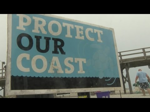 Seismic Testing Protest