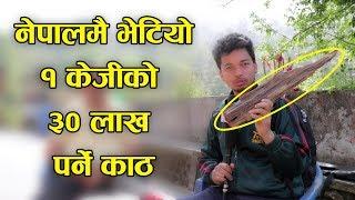 नेपालमै भेटियाे 1KG काे ३० लाख पर्ने काठ Saptarangi Ojhelkakhabar | Resham Bohora