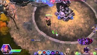 ASUS D550CA Gaming - Heroes of the Storm - Intel HD 4000