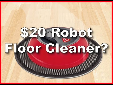 Cedar O-Duster Robotic Floor Cleaner Unboxing and Test Run