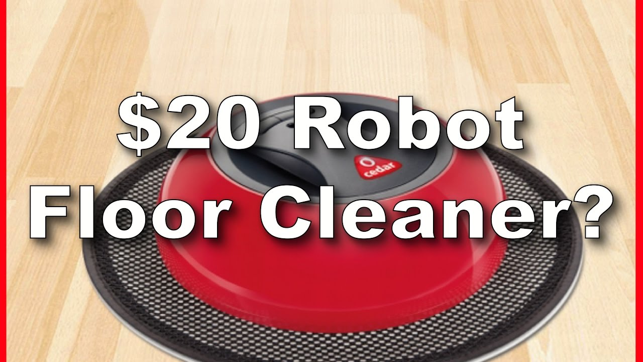cedar o-duster robotic floor cleaner unboxing and test run - youtube