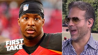 'I thought he was a bust!' - Max Kellerman calls Jameis Winston a top 10 QB | First Take