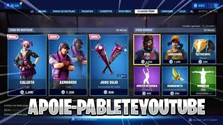 Fortnite-today's shop 17/06 NEW SKINS? -Personalised room with subscribers