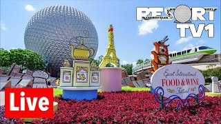 🔴Live: Epcot Morning Live Stream - 10-24-18 - Walt Disney World