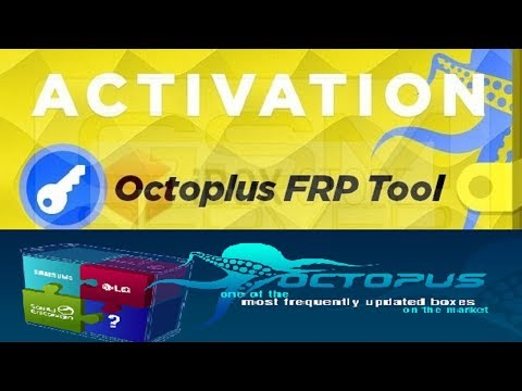 Activation Octoplus FRP Tool on Octopus Box  Instructions