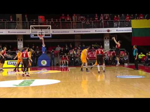 Eurocup Last 32 Round 6: Mike Moser flies high for a tremendous putback dunk!
