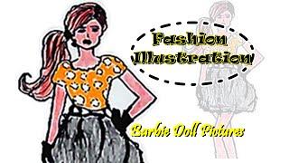 Illustration Fashion - Simple design suits clothing women