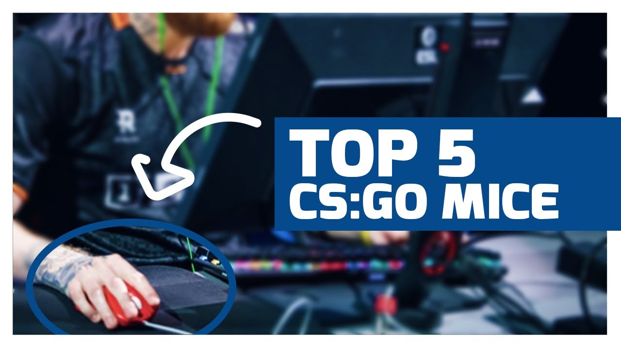 TOP 5 MICE For Counter Strike 2020