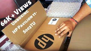 Unboxing HP Pavilion 11-S003TU (Flipkart) (No Review)