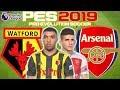 Watford Vs Arsenal Prediction | English Premier League 15th Apr | PES 2019 Gameplay
