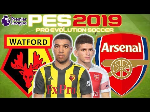 Watford vs Arsenal Prediction | English Premier League 15th Apr | PES 2019 Gameplay
