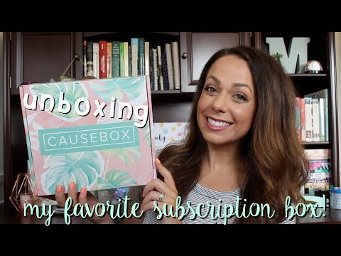 summer causebox unboxing {fair trade products!}