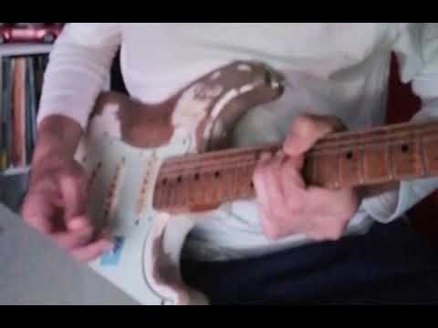 Wasted Time - solo practise for recording session