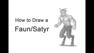 How to Draw  a Faun / Satyr