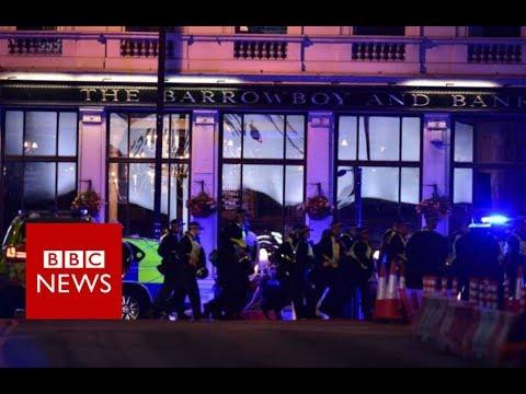 London Bridge Attack: Knife 'possibly involved' - BBC News