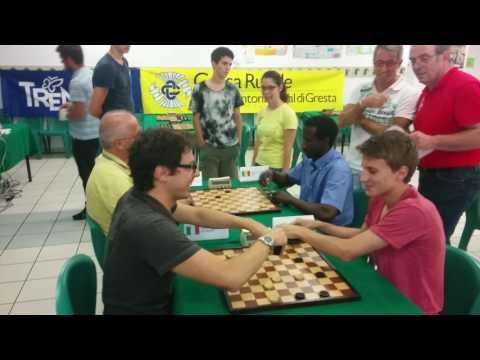 Torneo Blitz Città di Mori 2015 - dama internazionale - international draughts