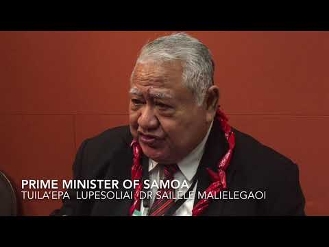 Pacific Radio News: Samoa Prime Minister Tuila'epa Describes