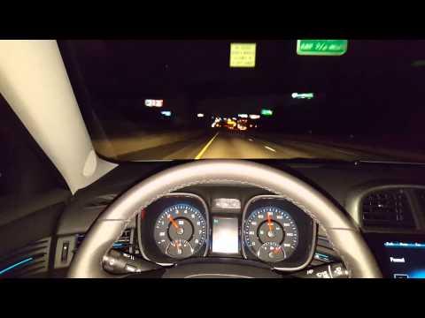 2015 Chevy Malibu LTE - Night time drive/rave