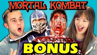 Teens React to Real Life Mortal Kombat Fatalities (BONUS #103)