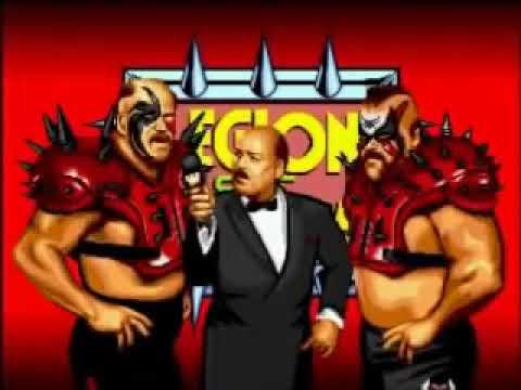 WWF WrestleFest Intro - 1991 Arcade Game
