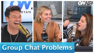 The Group Chat Strikes Again After Seacrest's Remote Trouble | On Air With Ryan Seacrest