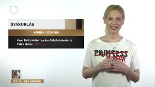 Szólalj meg! – németül, 2017. június 23.