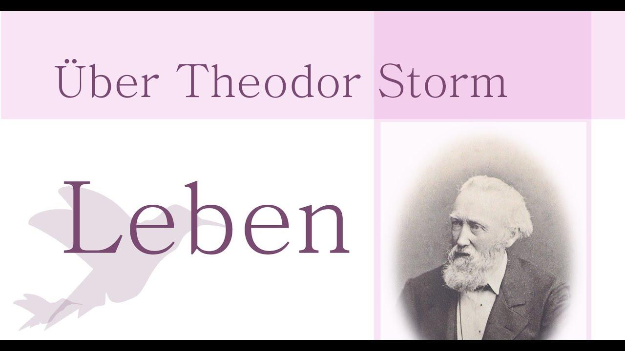 theodor storm biografie leben und werk von storm schimmelreiter immensee aquis submersus - Theodor Storm Lebenslauf