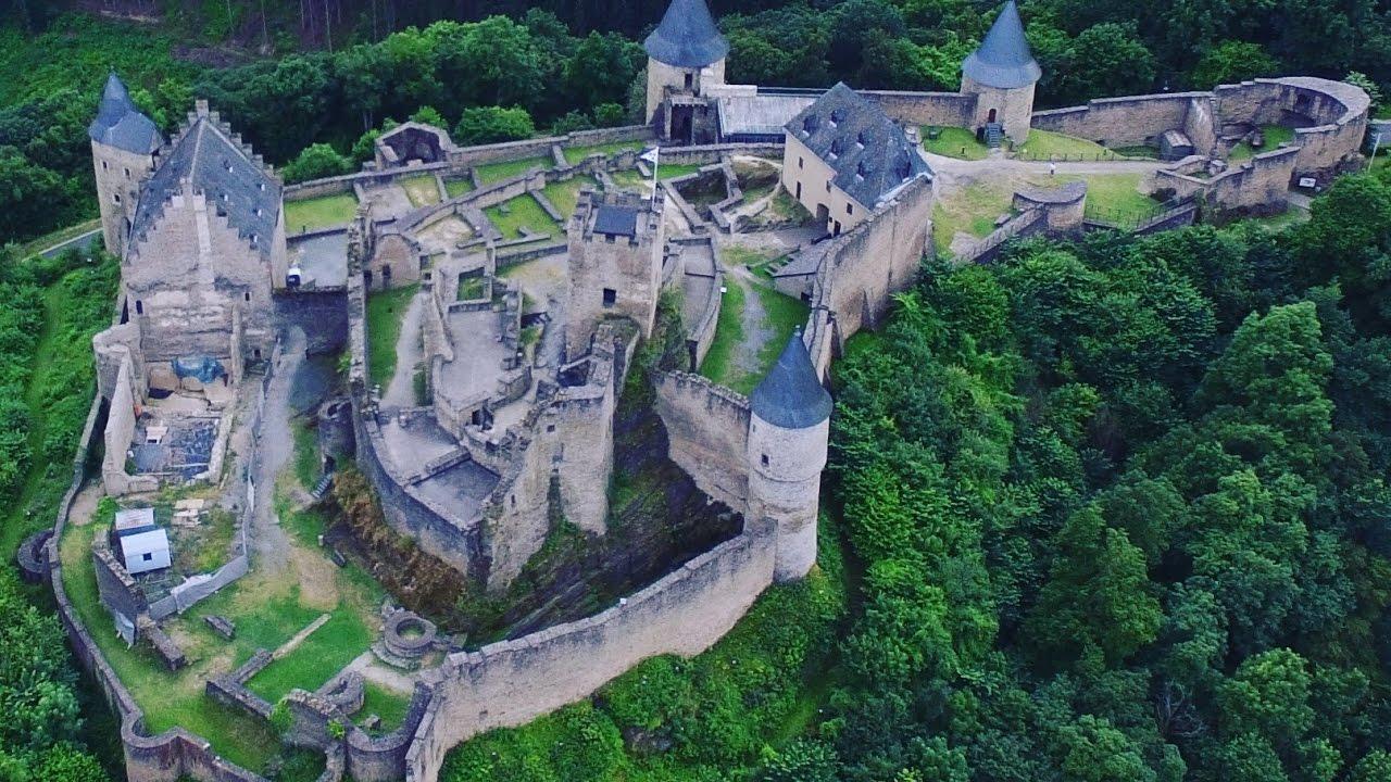 Château de Bourscheid - Luxembourg - YouTube