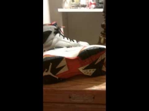 9c17967308018a ShoeZeum Joan Miro Nike Air Jordan 7 Dream Team Olympics. Retro 7 Olympics  size 13 for sale
