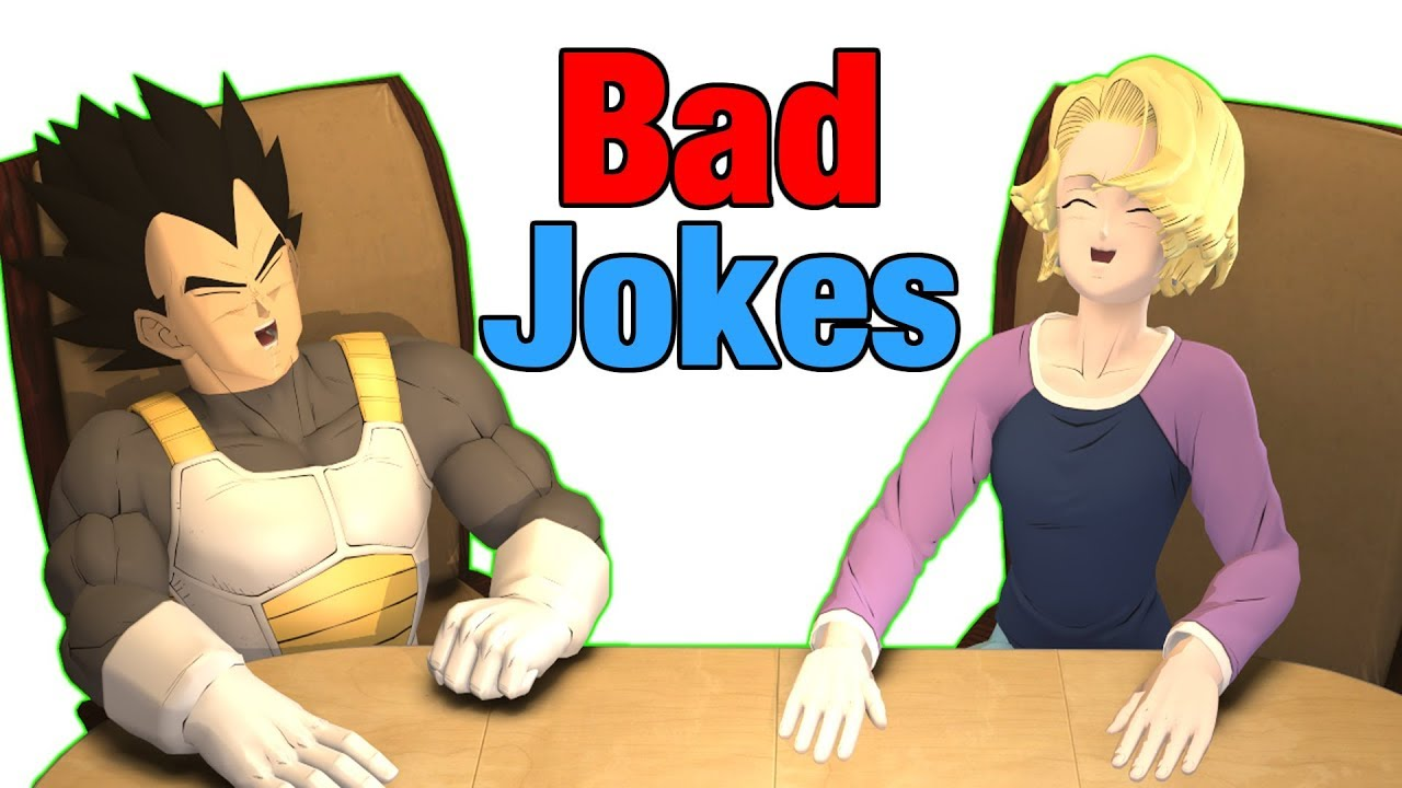Bad Jokes | Vegeta Vs Android 18