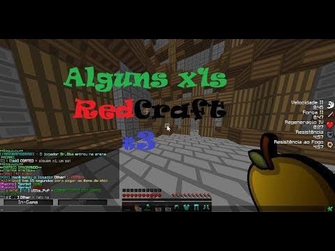» Alguns x1s Redcraft #3 ▓ Mini-Edit ▓ Aprendendo «