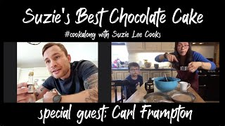Suzie's Best Chocolate Cake  - Cookalong with Carl Frampton
