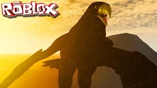 """¡El águila intrépida, la caza de conejos! Supervivencia (Pre-Alpha) """"Roblox"""" (Gameplay/EN-BR) """"Animal Life"""""""