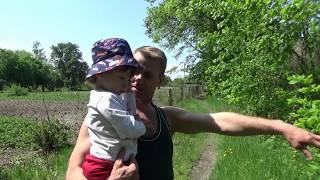 Наш самый первый день в Беларуси/Знакомство Пашки с его родным дядей
