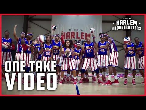 Incredible Harlem Globetrotters One Take Video