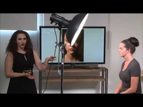 How to Position a Beauty Dish for Portraits