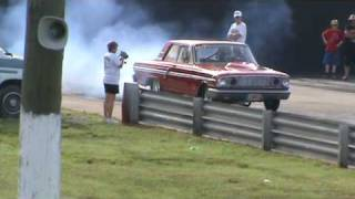 1964 Ford Thunderbolt Stick Shift drag race