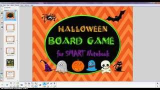 Demo: Halloween Board Game For Smart Notebook
