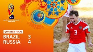 Brazil v Russia Highlights FIFA Beach Soccer World Cup Paraguay 2019