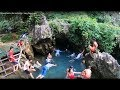 Mineral bath in the Red bridge - Vang Vieng laos  ( vientiane Province )