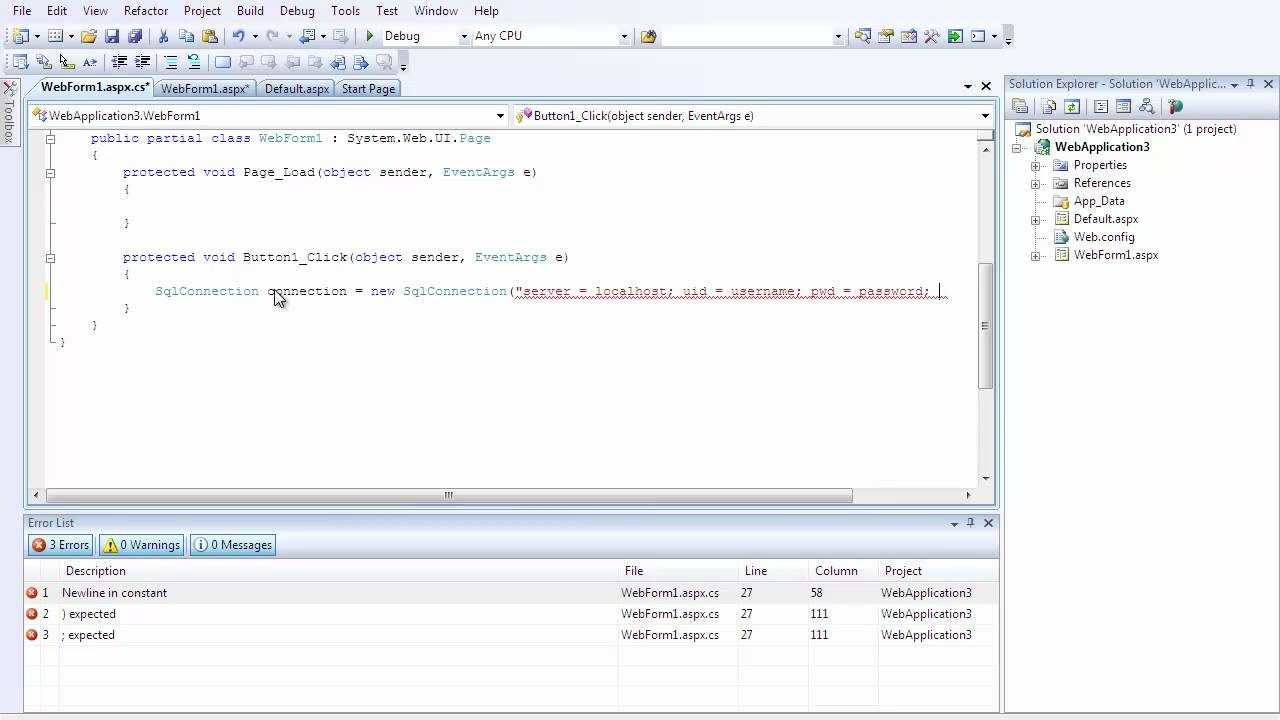 C sharp c asp tutorial 2 inserting data into a sql database c sharp c asp tutorial 2 inserting data into a sql database baditri Gallery