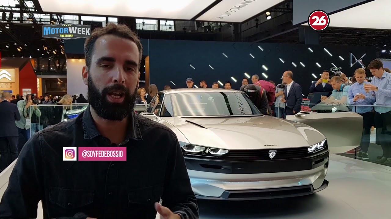 Concept Peugeot E Legend En El Salon De Paris 2018 Youtube