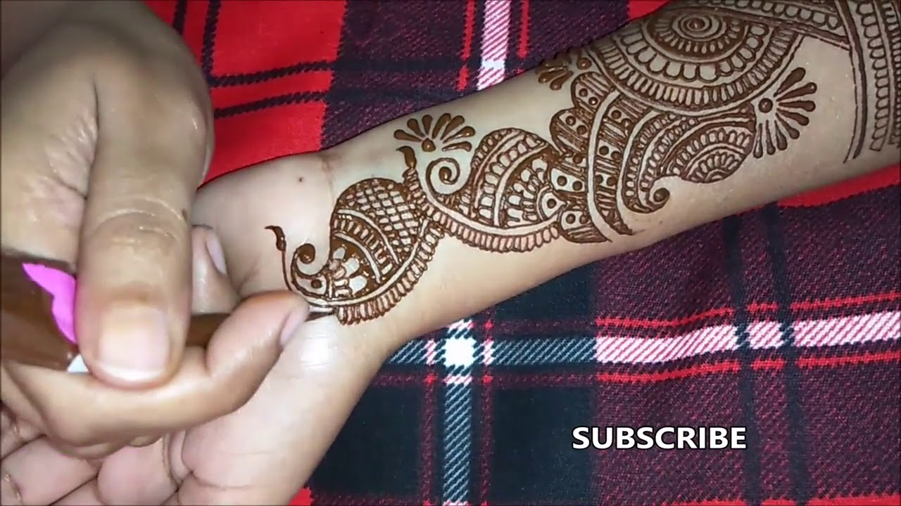 mehndi design 2019 full hand