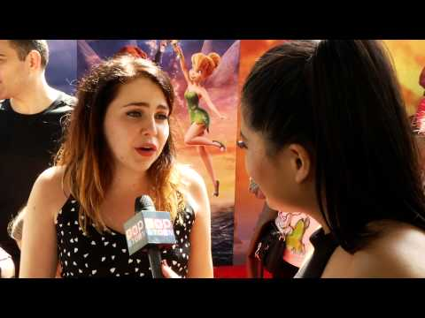 Mae Whitman Talks Tinkerbell!
