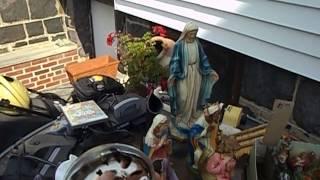 Paper Machet Nativity Figures Video Games Dino Martens Murano. Garage Yard Sale Pick-ups - 10/4/13