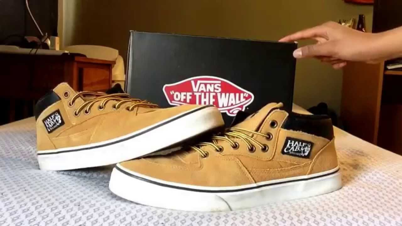 9f7d55cafd0a Vans Half Cab Review (+on foot) - YouTube
