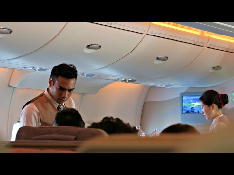 Emirates A380 Full Flight Experience: EK404 Dubai to Singapo